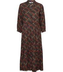 frmaori 3 dress jurk knielengte bruin fransa