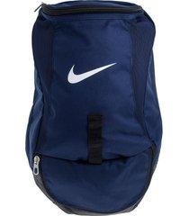 morral azul navy  nike club team swoosh backpack