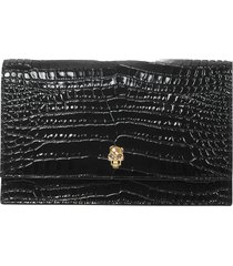 alexander mcqueen skull shoulder bag