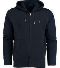 gant the original full zip hoodie 2046011/433