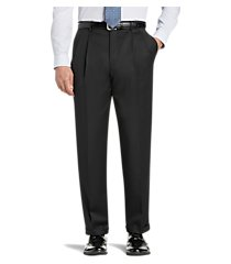 signature gold collection traditional fit dress pants clearance by jos. a. bank