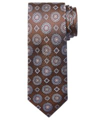 reserve collection round & diamond medallion tie - long clearance