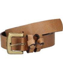 cinturón cuero básico camel panama jack