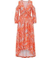 abito con cut-out (arancione) - bodyflirt boutique