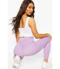 booty enhancing ribbed legging, lilac