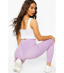 booty enhancing ribbed legging, lilac
