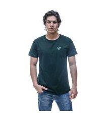camiseta vitoriano classic - verde musgo