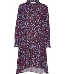 linea jurk knielengte multi/patroon fall winter spring summer