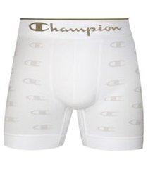 cueca boxer champion c logo 2836 branco