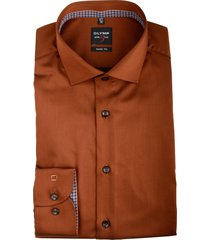 olymp overhemd oranje met stretch 204064/34