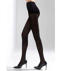 natori soft suede tights, women's, size m/l