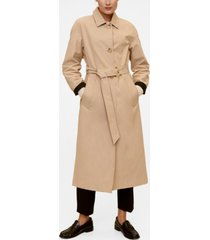 mango classic belted trench coat