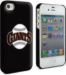 giants major league baseball logo hardshell case for iphone 4 4g 4s