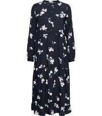 byisole long dress - knälång klänning blå b.young