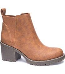 dirty laundry lido block heel booties women's shoes