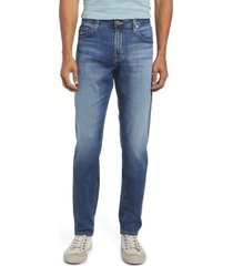 ag tellis slim fit jeans, size 29 x 34 in 7 years smoke at nordstrom
