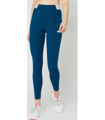 lndr women's spar leggings - sailor blue - l