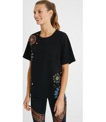 cotton comfort t-shirt - black - l