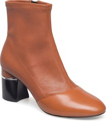 drum - 70mm stretch ankle boot shoes boots ankle boots ankle boots with heel brun 3.1 phillip lim