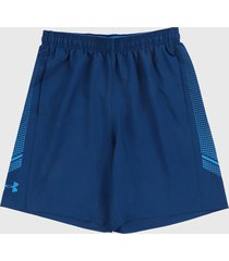 pantaloneta azul under armour ua woven graphic