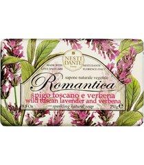 romântica lavanda toscana e verbena nesti dante - sabonete perfumado em barra 250g