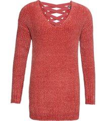 maglione in ciniglia (rosso) - rainbow