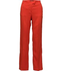 nyx pantalon met rechte pijpen rood tiger of sweden