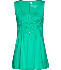 top lungo con pietre (verde) - bpc selection
