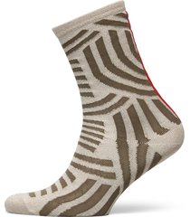 decoy ankle sock glitter underwear socks regular socks beige decoy