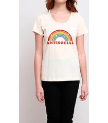 camiseta antisocial colors