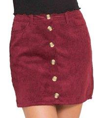 falda tatiana beige para mujer croydon