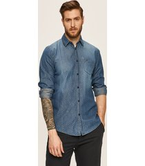 trussardi jeans - koszula jeansowa