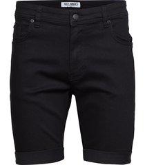 mike shorts black night jeansshorts denimshorts svart just junkies