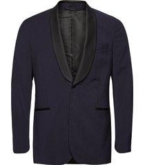 d2. tux suit jkt s smoking blauw gant