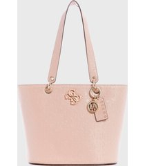 cartera  chic shine rosado guess