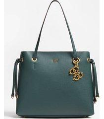 torba typu shopper z charmsem z logo 4g model digital