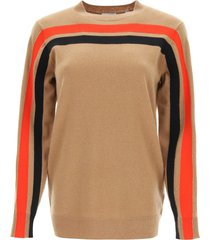 burberry steffy sweater in technical cashmere