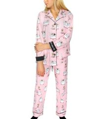 pj salvage spaw day flannel pyjama