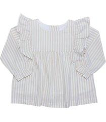 blusa isabel beige maría pompón