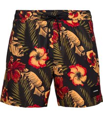 medium drawstring-print zwemshorts multi/patroon calvin klein