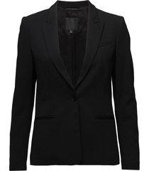roseau blazer colbert zwart inwear