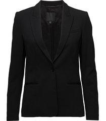 roseau hw blazer colbert zwart inwear