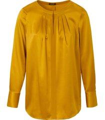blouse van basler geel