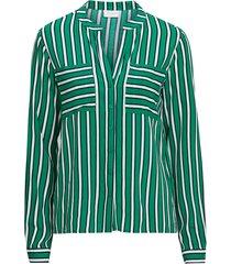 blus vilinetta stripe l/s shirt