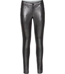 pantalone in jersey metallizzato (argento) - bodyflirt