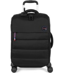 """lipault snowflake 21"""" carry-on spinner suitcase"""