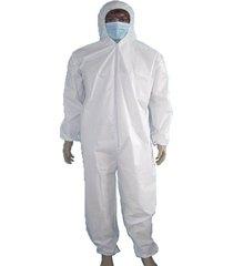 traje de protección desechable mono con capucha de pulverización de pintura ropa de seguridad