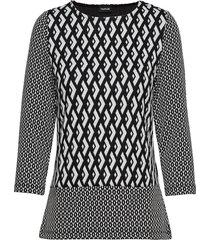 t-shirt 3/4-sleeve r blouse lange mouwen zwart taifun