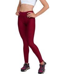 calça legging part.b básica suplex vermelha
