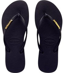 sandalias havaianas slims logo - 4119875